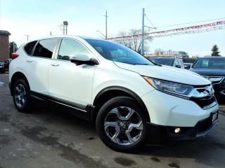 Used 2017 Honda CR-V EX-L w/HondaSense.Leather.Roof.LaneAssist.Radar for sale in Kitchener, ON
