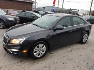 Used 2015 Chevrolet Cruze 1LT, ACCIDENT FREE, BACKUP CAMERA, BLUETOOTH, 96KM for sale in Ottawa, ON