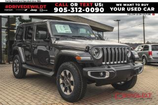 New 2021 Jeep Wrangler Unlimited Sahara | LED | Leather | Nav | Alpine | for sale in Hamilton, ON