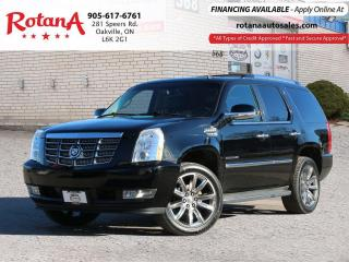 Used 2010 Cadillac Escalade NAVI_DVD_BLIND SPOT MIRRORS_SUNROOF for sale in Oakville, ON