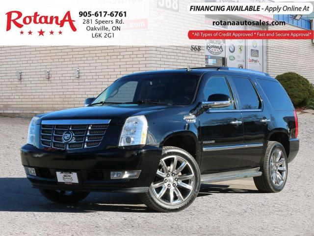 2010 Cadillac Escalade NAVI_DVD_BLIND SPOT MIRRORS_SUNROOF