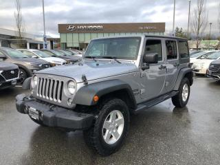 Used 2015 Jeep Wrangler Unlimited Unlimited Sport,1 Owner, No Accident, Local for sale in Port Coquitlam, BC