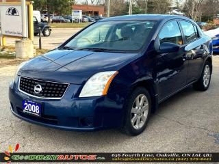 Used 2008 Nissan Sentra S|LOW KM|NO ACCIDENT|SUNROOF|BLUETOOTH|CERTIFIED for sale in Oakville, ON