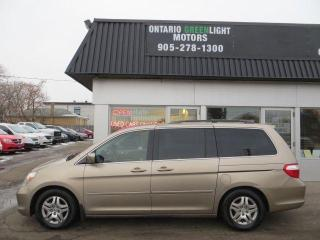 Used 2006 Honda Odyssey EX-L, LEATHER, SUNROOF, POWER SLIDING DOORS for sale in Mississauga, ON