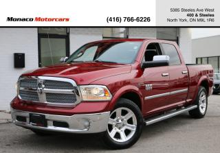Used 2015 RAM 1500 LARAMIE LIMITED - ECODIESEL|AIR SUSPENSION|NAVI for sale in North York, ON