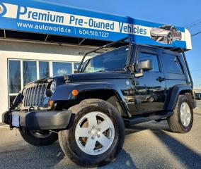 Used 2007 Jeep Wrangler Sahara *Auto, A/C, Power Group* for sale in Langley, BC