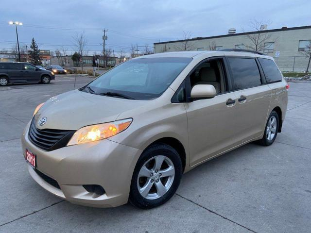 2011 Toyota Sienna LE, 7 Pass, Alloy Wheel,3/Y Warranty Availabl