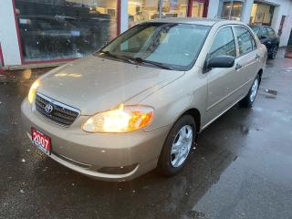 Used 2007 Toyota Corolla CE for sale in Hamilton, ON