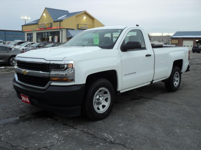 2016 Chevrolet Silverado 1500 LS RegCab 4.3L 8ft Box BackUpCam