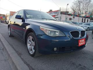 Used 2006 BMW 5 Series 525xi-AWD-LEATHER-SUNROOF-BLUETOOTH-ALLOYS for sale in Scarborough, ON