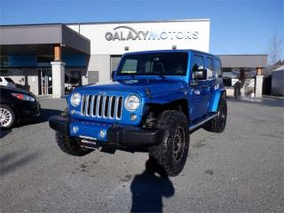 Used 2016 Jeep Wrangler Unlimited SAHARA-NAV, 4X4, LEATHER for sale in Duncan, BC