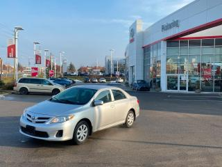 Used 2012 Toyota Corolla CE (A4) for sale in Pickering, ON