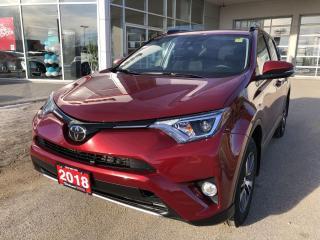 Used 2018 Toyota RAV4 XLE for sale in Winnipeg, MB