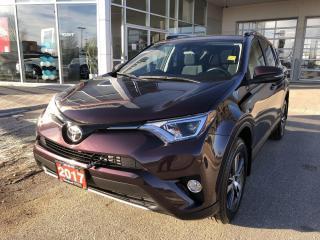 Used 2017 Toyota RAV4 XLE for sale in Winnipeg, MB