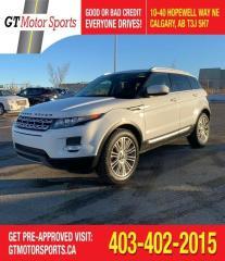 Used 2012 Land Rover Range Rover Evoque Prestige Premium I $0 DOWN for sale in Calgary, AB