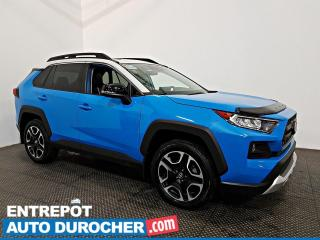 Used 2019 Toyota RAV4 Trail AWD TOIT OUVRANT - A/C - Cuir - Caméra for sale in Laval, QC