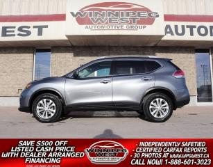 Used 2016 Nissan Rogue SV AWD, PREM & TECH PKG, HTD SEAT/NAV/ PAN ROOF! for sale in Headingley, MB