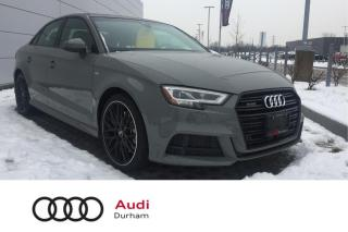 Used 2020 Audi A3 45 TFSI Technik + New Car! | Clearout! | Save $$$ for sale in Whitby, ON