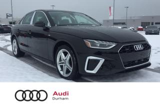 Used 2020 Audi A4 2.0T Progressiv + CarPlay | Drive Assist | Save $$ for sale in Whitby, ON