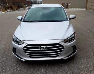 Used 2017 Hyundai Elantra REMOTE STARTER | NO ACCIDENTS | BACK UP CAMERA for sale in Concord, ON