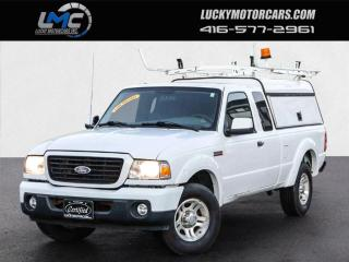 Used 2008 Ford Ranger XLT SUPERCAB-AUTO-MATCHING CAP-LADDER RACKS-ONLY 135KMS for sale in Toronto, ON