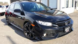 Used 2017 Honda Civic Sport CVT - HATCH! BACK-UP/BLIND-SPOT CAM! SUNROOF! HONDA SENSING! for sale in Kitchener, ON
