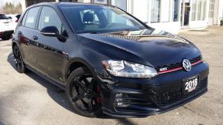 Used 2018 Volkswagen Golf GTI SE 6M 4-Door - PERF PKG! BACK-UP CAM! CAR PLAY! for sale in Kitchener, ON