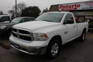 Used 2013 RAM 1500 SLT 4WD Reg Cab 8ft Long box for sale in Mississauga, ON