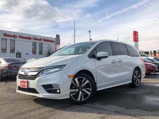Used 2018 Honda Odyssey Touring -  Navi - Leather - Sunroof - DVD for sale in Mississauga, ON