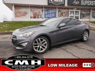 Used 2014 Hyundai Genesis Coupe COUPE BT SPORT-GAUGES AUTO 18-AL for sale in St. Catharines, ON
