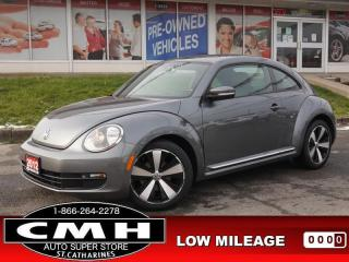Used 2012 Volkswagen Beetle 2.5 Highline  NAV LEATH HTD-SEATS 18-AL for sale in St. Catharines, ON