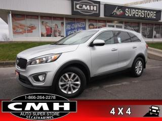 Used 2016 Kia Sorento 2.4 LX  AWD HTD-SEATS BT PARK-SENS 17-AL for sale in St. Catharines, ON