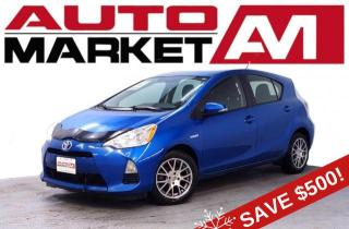 Used 2014 Toyota Prius c Four Certified! Navigation Package! We Approve All Credit! for sale in Guelph, ON