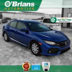Used 2019 Honda Civic Hatchback Sport Touring - Loaded! w/Command Start, Leather, Nav, Backup Ca for sale in Saskatoon, SK