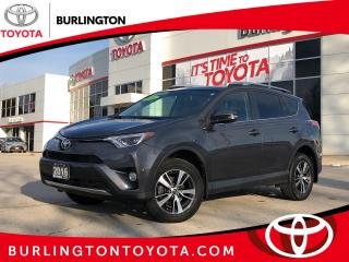 Used 2016 Toyota RAV4 XLE AWD for sale in Burlington, ON