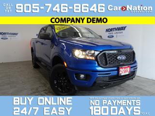 Used 2019 Ford Ranger XLT | 4X4 | SUPERCREW | 302A | BLK APPEARANCE PKG for sale in Brantford, ON