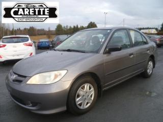 Used 2005 Honda Civic for sale in East broughton, QC