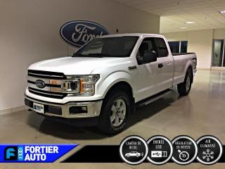 Used 2018 Ford F-150 XLT cabine double 4RM caisse de 8 pi for sale in Montréal, QC