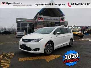 New 2020 Chrysler Pacifica Hybrid - $337 B/W for sale in Ottawa, ON