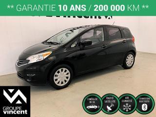 Used 2015 Nissan Versa NOTE SV ** GARANTIE 10 ANS ** Occasion à saisir, bas kilométrage! for sale in Shawinigan, QC