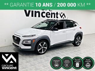 Used 2018 Hyundai KONA TREND AWD ** GARANTIE 10 ANS ** Véhicule stylé et sécuritaire, coup de c?ur assuré! for sale in Shawinigan, QC