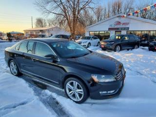 Used 2015 Volkswagen Passat 1.8T SEL PREMIUM for sale in Barrie, ON