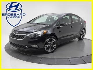 Used 2016 Kia Forte SX TOIT OUVRANT GPS CUIR automatique for sale in Brossard, QC