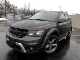 Used 2017 Dodge Journey Crossroad AWD for sale in Cayuga, ON