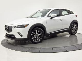 Used 2017 Mazda CX-3 AWD GT NAV CUIR TOIT OUVRANT CAM DE RECUL for sale in Brossard, QC