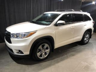 Used 2015 Toyota Highlander Limited AWD **CUIR/TOIT PANO/GPS/JBL** for sale in St-Eustache, QC