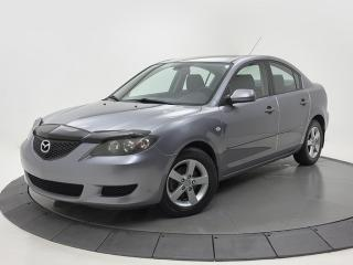 Used 2004 Mazda MAZDA3 GS AUTO A/C CRUISE GROUPES ÉLECTRIQUE for sale in Brossard, QC