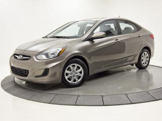 Used 2013 Hyundai Accent GL AUTO A/C SIEGES CHAUFFANTS for sale in Brossard, QC