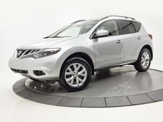 Used 2013 Nissan Murano AWD SL CUIR TOIT PANO VOLANT CHAUFFANT for sale in Brossard, QC