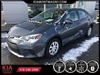 Used 2016 Toyota Corolla LE berline 4 portes CVT for sale in Montmagny, QC